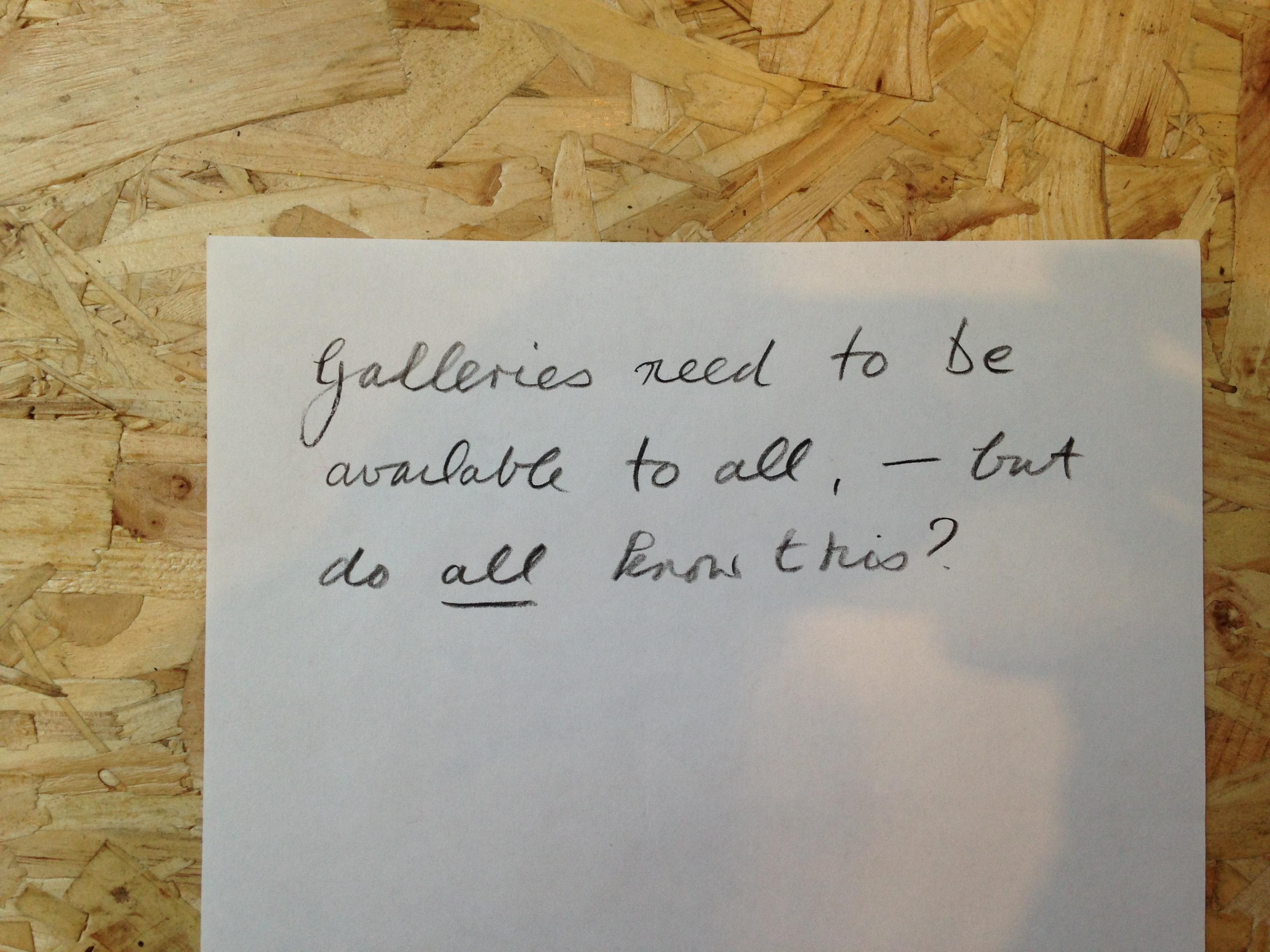Conversation Station II, John Hansard Gallery, 2018