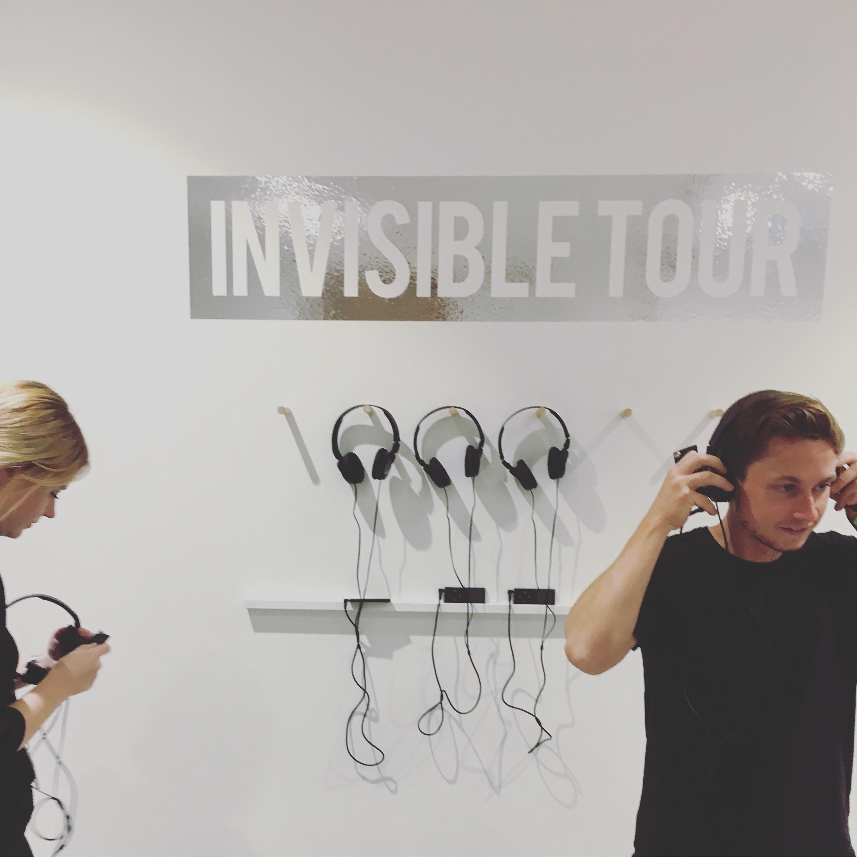 Invisible Tour, John Hansard Gallery, 2018